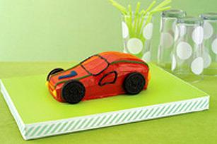 Gâteau auto de course recette