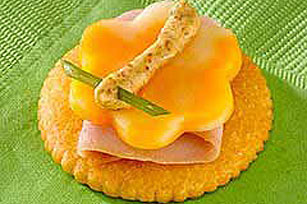 Ham and Cheese RITZ Butterfly Recipe