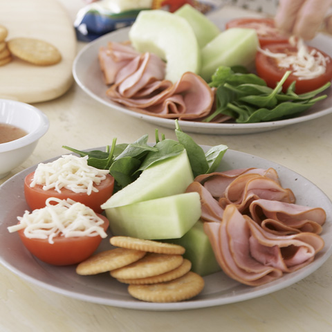 Italian Ham Cold Plate Recipe