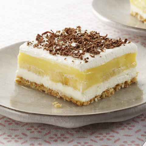 Banana Pudding Squares Recipe