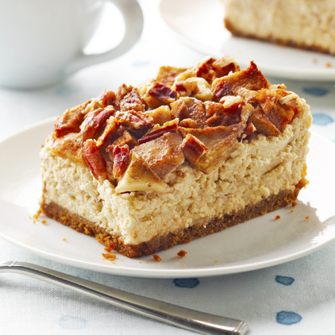 HONEY MAID Apple-Pecan Cheesecake Recipe
