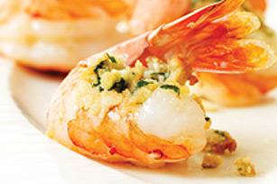Crevettes farcies simples recette