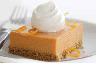 Orange-Pumpkin Mousse Squares Recipe