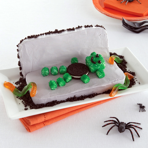 Monster Coffin Cake Recipe