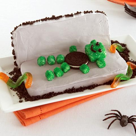Gâteau cercueil de monstre recette