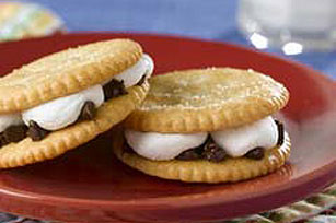 Snack S'mores for One Recipe