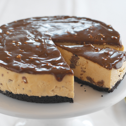 No-Bake Peanut Butter-TOBLERONE Cheesecake Recipe