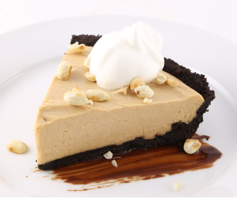Creamy Peanut Butter Pie made with OREO Pie Crust Recipe