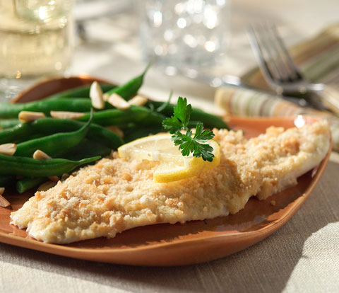 Dijon-Crusted Fish with RITZ Recipe