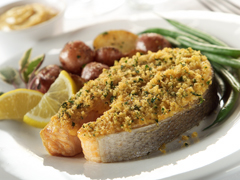 Bistro Salmon Steaks with RITZ Recipe