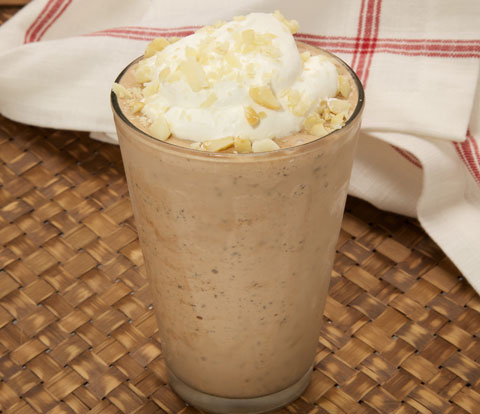 Double Chocolate Macadamia Milkshake with OREO Recipe