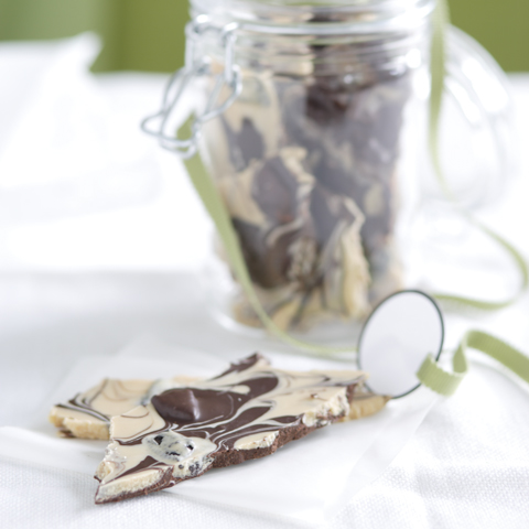 Chocolate Cookie Bark Recipe