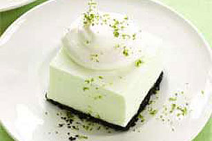 Creamy Limeade Freeze Squares Recipe