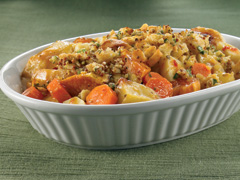 Golden Potato and Vegetable Salad with RITZ Cracker Topping Recipe