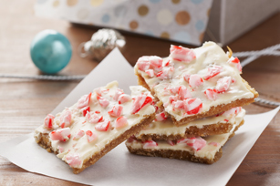 White Christmas Crunch Squares Recipe