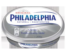 Philadelphia naturell