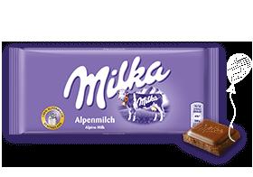 Milka Tafeln 81g – 100g