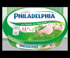 Philadelphia με γεύσεις