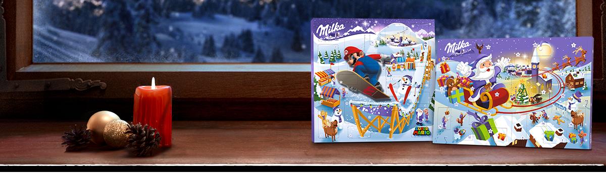 Milka Adventkalender