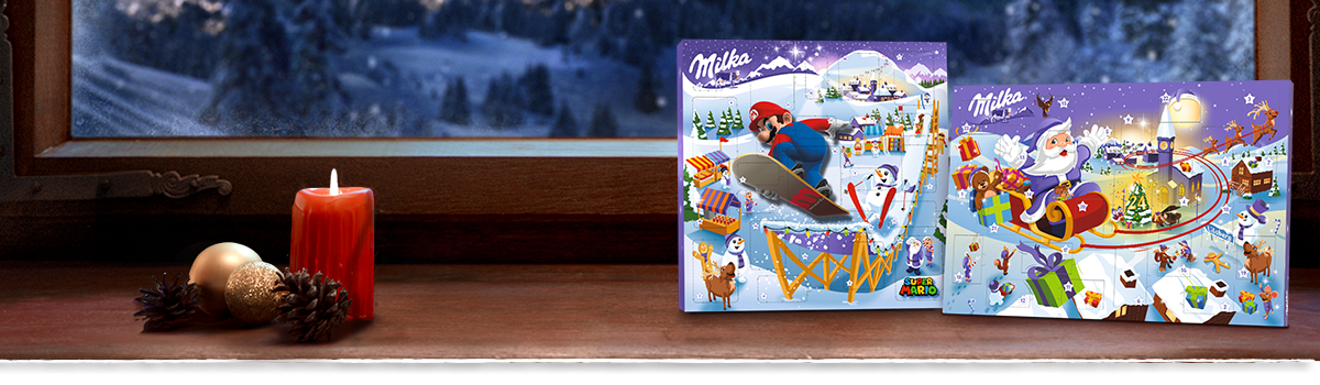 Milka Advents-Kalender