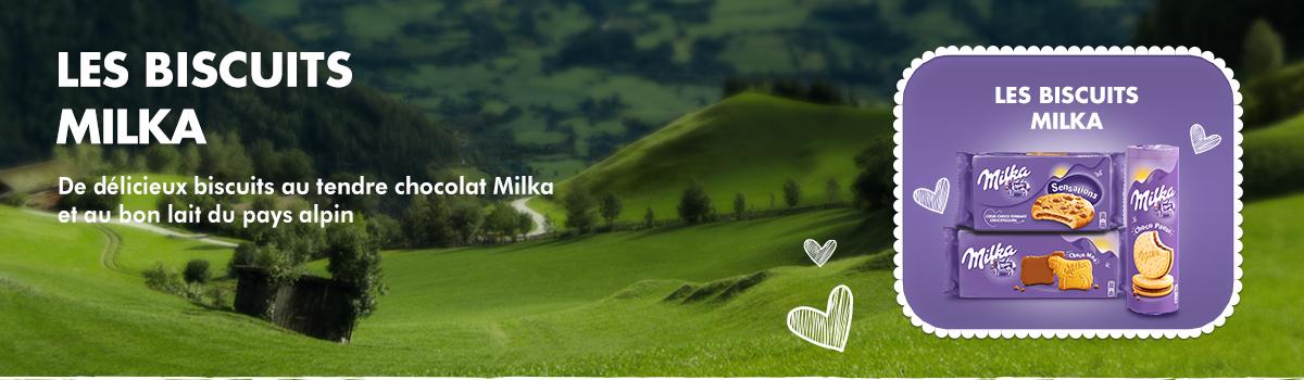 Les Biscuits Milka