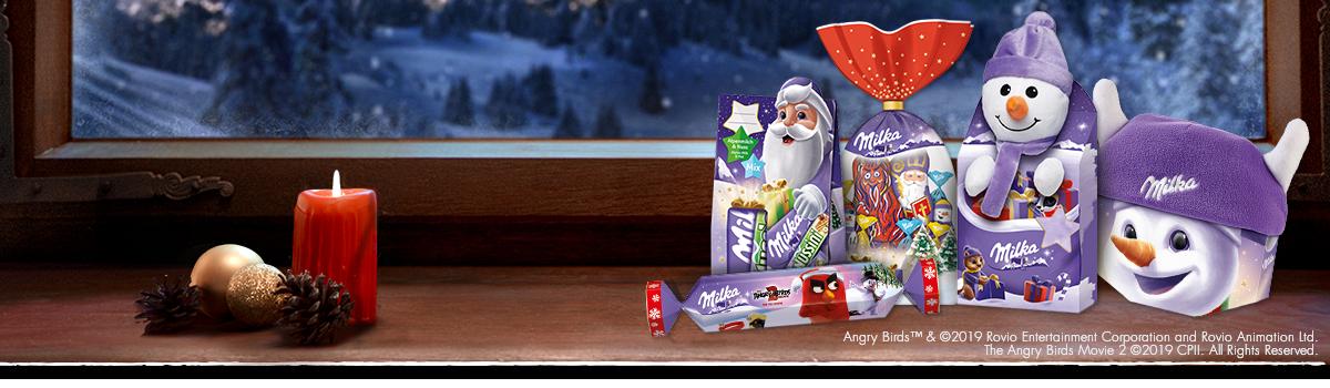 Milka Mischungen und Geschenke