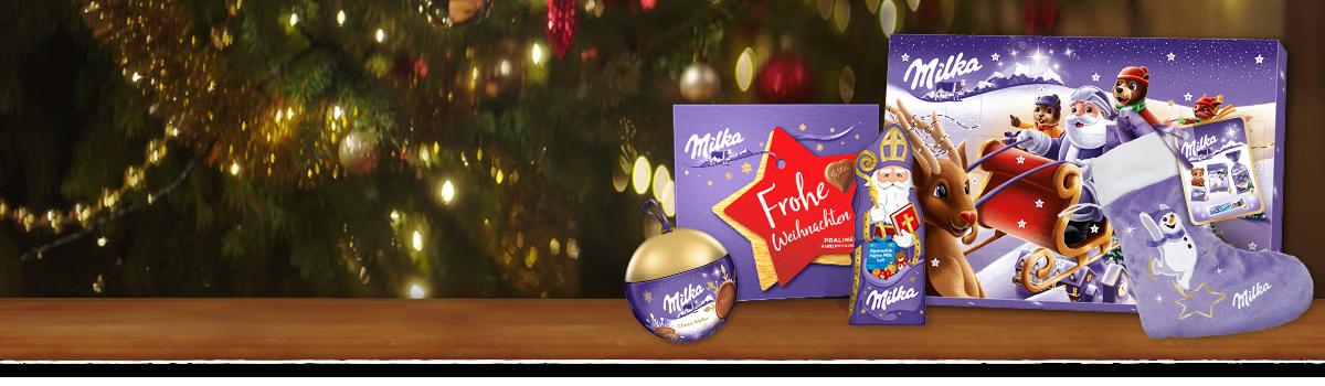 Milka Weihnachten