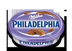 Philadelphia mit Milka