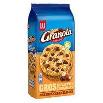 Biscuits - Gateaux - Granola Extra Cookies Chocolat et Amandes Caramélisées Alt Mondelez Pro
