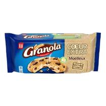Biscuits - Gateaux - Granola Cookies Cœur Extra Choco 182 g Alt Mondelez Pro