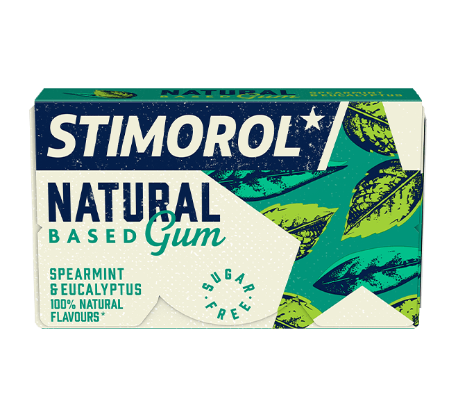 Stimorol Natural Based Gum Spearmint & Eucalyptus