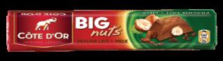Chocolat Big Nuts Praliné Lait Côte d'Or
