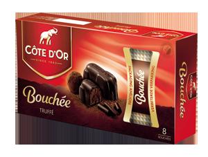 Chocolat Bouchées Truffé Côte d'Or