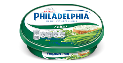 Philadelphia Light with Chives
