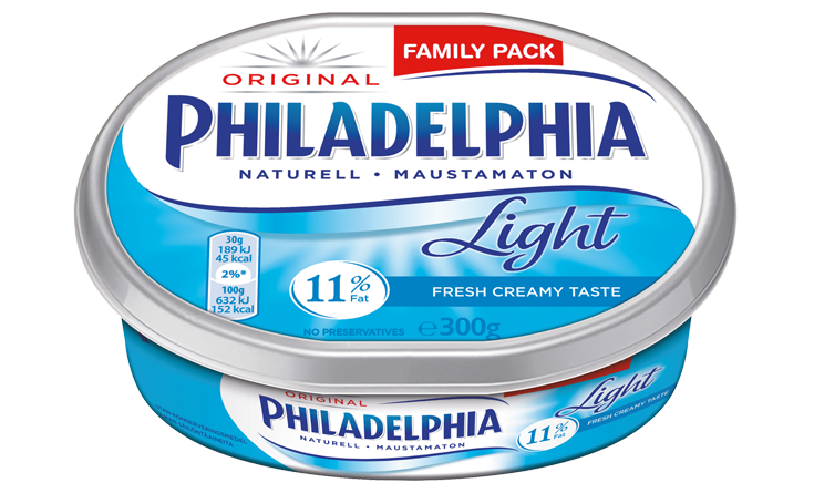Philadelphia Light Naturell 300g