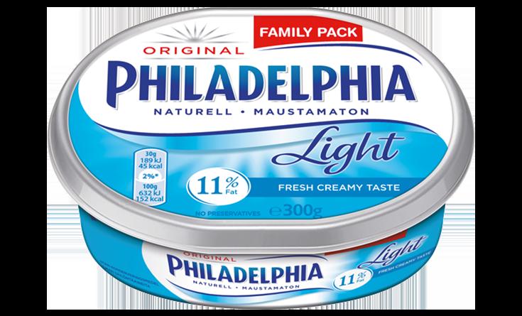 Philadelphia Naturel Light 300g