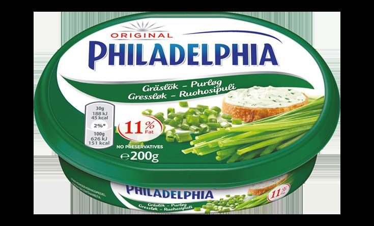 Philadelphia Ruohosipuli 200g