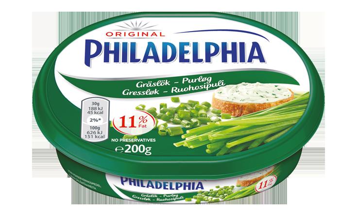 Philadelphia Gressløk 200g