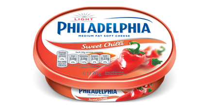 Philadelphia Light with Sweet Chilli