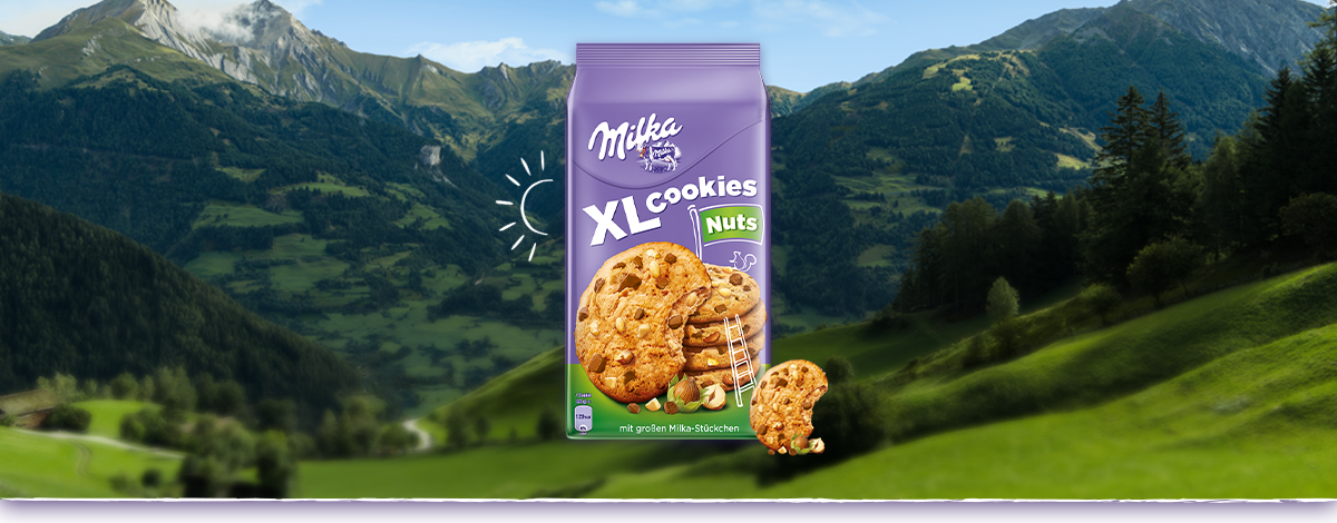 Milka XL Cookies Nuts