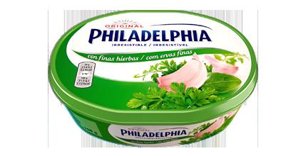 Philadelphia com ervas finas