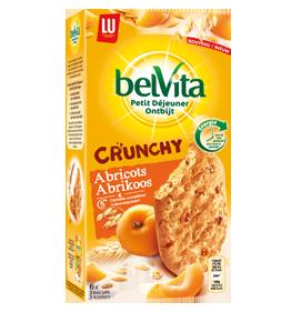 belvita crunchy abricots