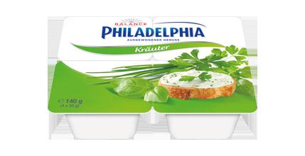 Philadelphia Kräuter Balance 4 x 35g