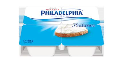 Philadelphia Klassisch Balance 4 x 35 g