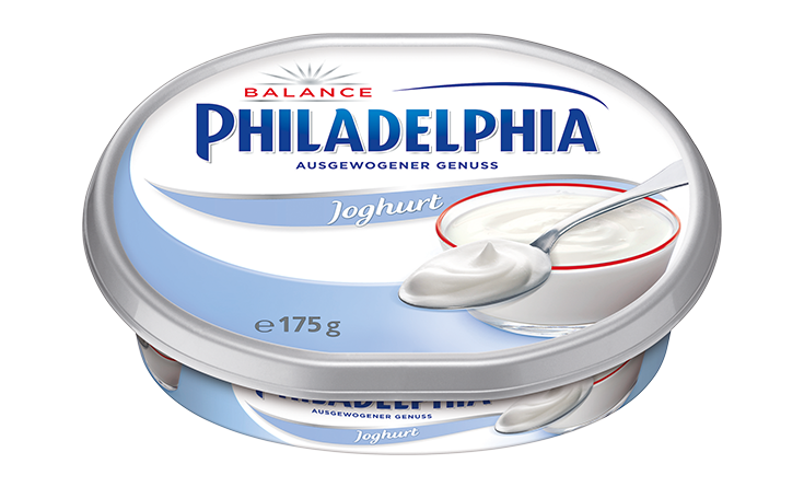 Philadelphia Joghurt Balance