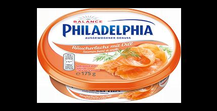 Philadelphia Räucherlachs mit Dill Balance