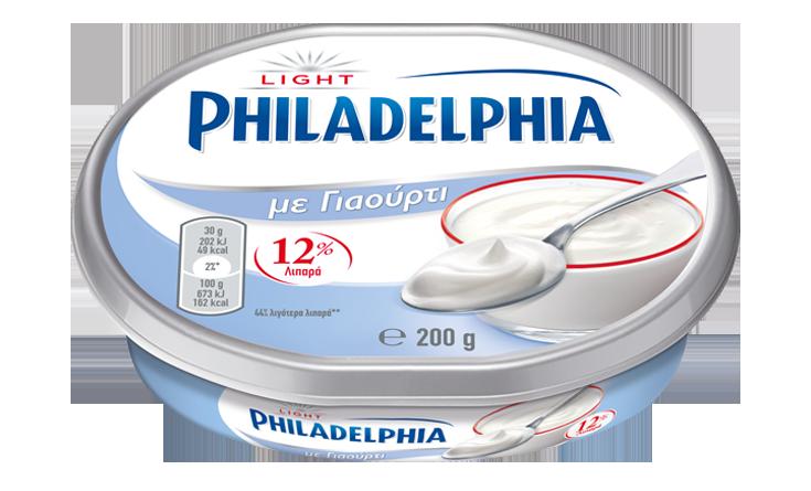 Philadelphia με Γιαούρτι