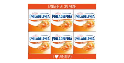 Philadelphia Fantasie Salmone