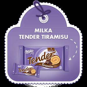 Milka Tender à la Tiramisu