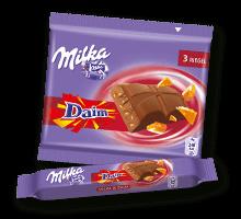 Milka Riegel Milka & Daim